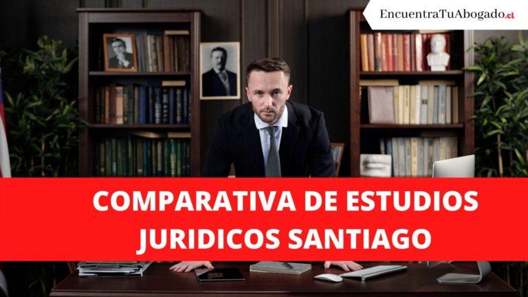 Comparativa de estudios juridicos santiago